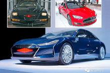 Hier kommt der Tesla Model K.I.T.T.!