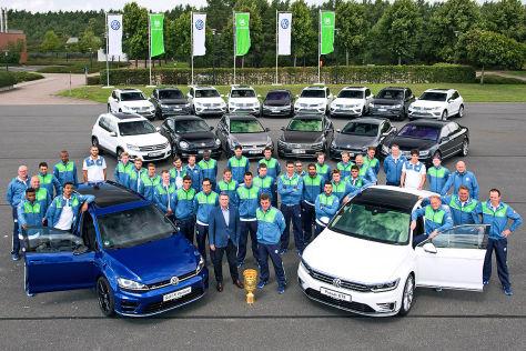 VW-Fahrtraining für den VfL Wolfsburg