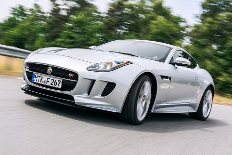 Jaguar F-Type Coupé S