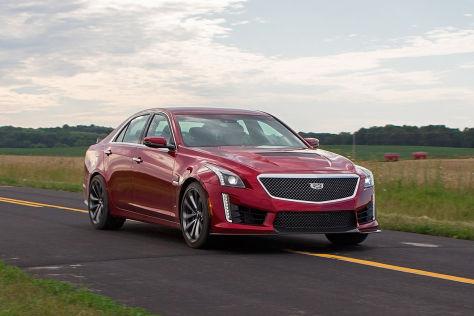 Cadillac CTS-V (2015): Fahrbericht