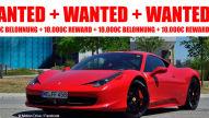 Ferrari 458 Italia: Fahndung