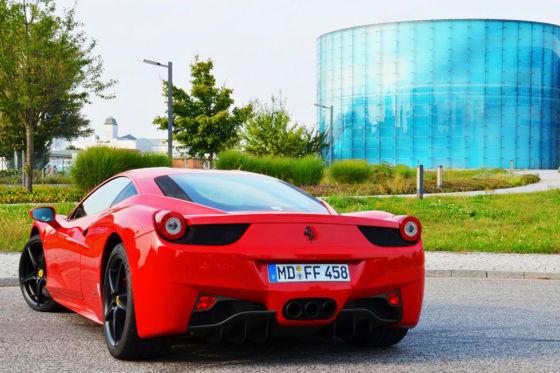 Ferrari 458 Italia Heck