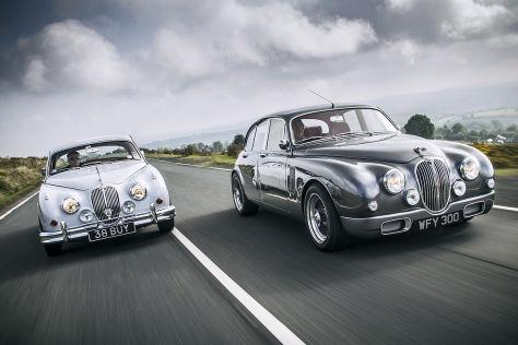 Jaguar Mark 2 gestern und heute