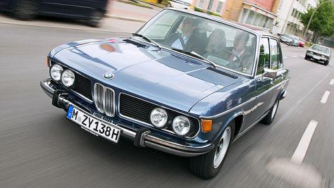 AUTO BILD KLASSIK-Dauertest: BMW 3.0 Si