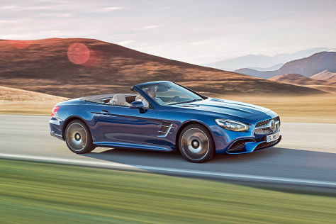 Mercedes SL Facelift: IAA 2015
