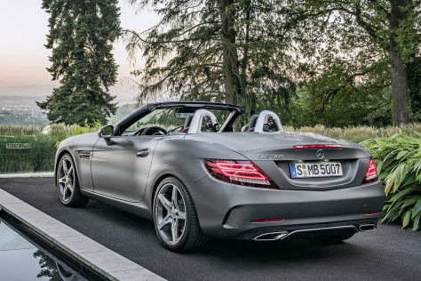 Mercedes SLC (SLK) Facelift: IAA 2015