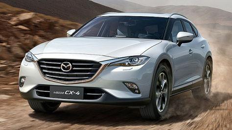 Mazda CX-4: Peking Motor Show 2016