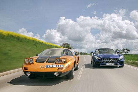 Mercedes C 111 Mercedes AMG GTS