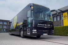 BVB wieder im Attentats-Bus unterwegs