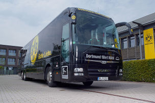 BVB wieder im Attentats-Bus