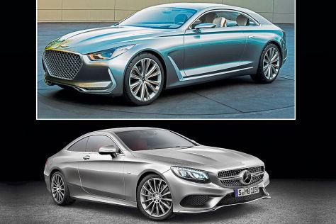 Hyundai Vision G Coupé: IAA 2015