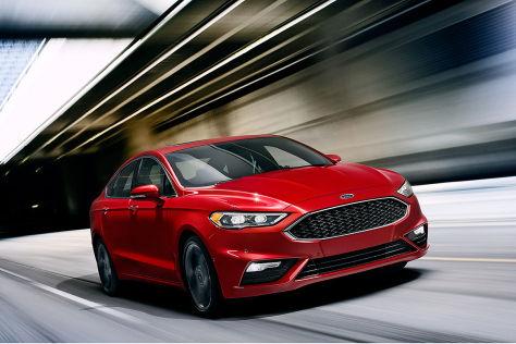 Ford Mondeo/Fusion FL: Vorschau