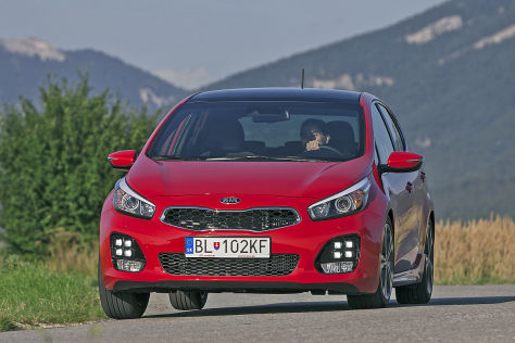 Kia cee'd Facelift: Fahrbericht