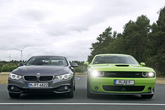 BMW 4er Dodge Challenger