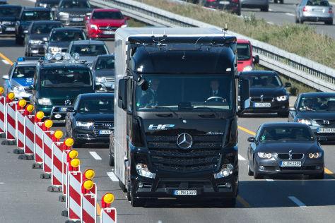 Mercedes Future Truck: Autonomer Lkw