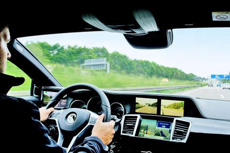 Statt Außenspiegeln: Kamera-Monitor-System von Continental
