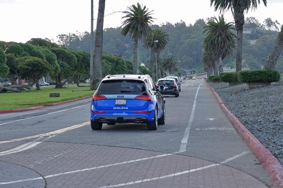 Autonom auf der Landstraße