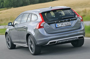 Das halbe Volvo-SUV