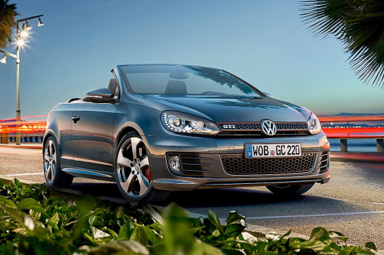 vw golf und golf gti cabrio fl 2015 2016 vorstellung preise. Black Bedroom Furniture Sets. Home Design Ideas