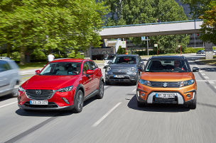 Neuer CX-3 im ersten Vergleich