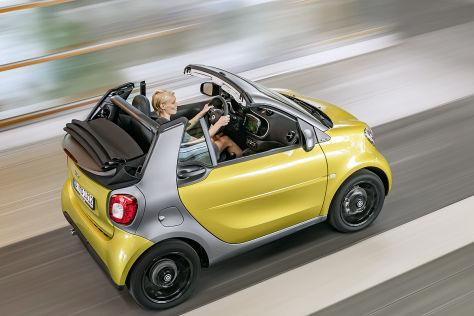 Smart fortwo Cabrio (IAA 2015): Vorstellung