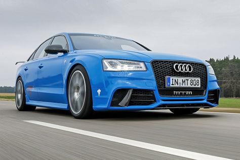 Test: MTM Audi S8 Talladega
