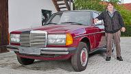 Nagelneues altes Auto: 30 Jahre alter 240 D