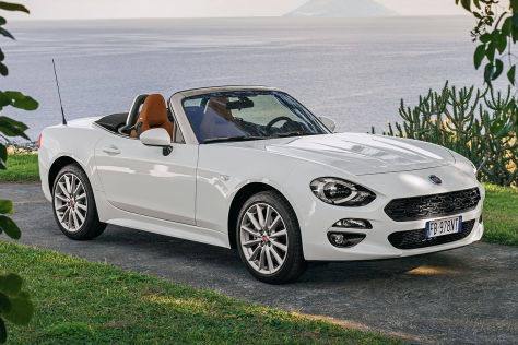 Fiat 124 Spider Illustration