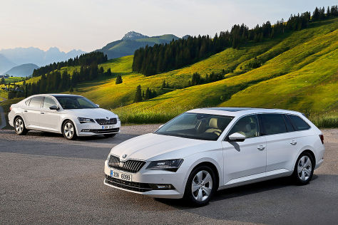 Skoda Superb Greenline: IAA 2015
