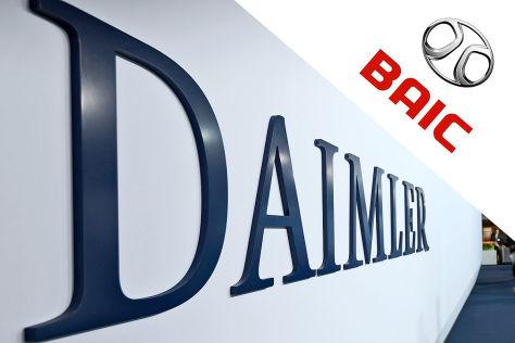 Daimler: BAIC will Anteile kaufen