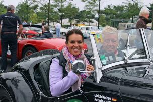 Rosen für die Rallye-Teams