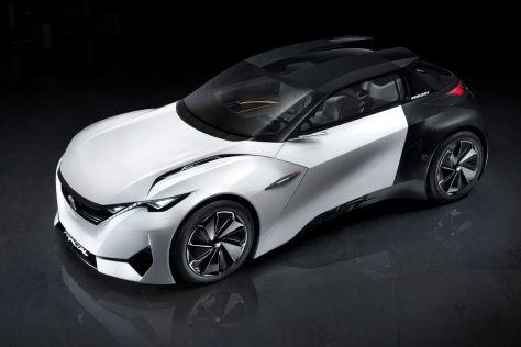 Peugeot Fractal Concept (IAA 2015): Elektro-Coupé mit Sound