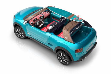 Citroën Cactus M Concept (IAA 2015): Vorstellung