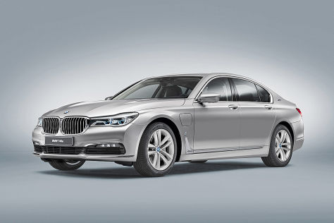 BMW 740e (IAA 2015): 7er als Plug-in