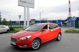 Besuch im Ford-Werk