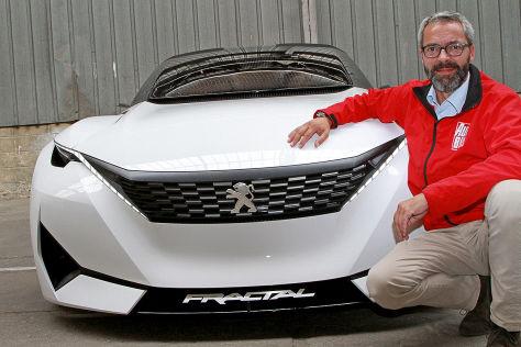 Peugeot Fractal Concept (IAA 2015): Sitzprobe