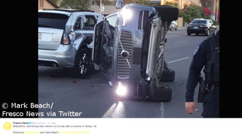 Uber-Test: Autonome Autos