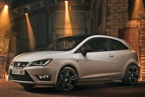 Seat Ibiza Cupra Facelift: IAA 2015