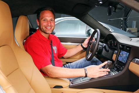 Porsche 911 Facelift (IAA 2015): Sitzprobe