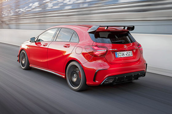 Mercedes-AMG A 45 4MATIC (IAA, Test): Fahrbericht