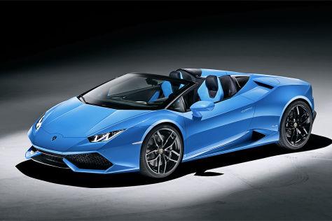 Lamborghini Huracán Spyder: Vorstellung - autobild.de