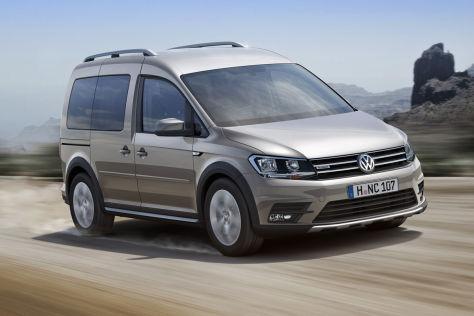 VW Caddy Alltrack (IAA 2015): Vorstellung