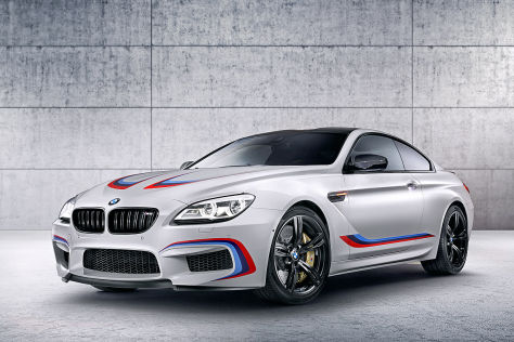 BMW M6 Coupé Competition Edition (IAA 2015): Vorstellung