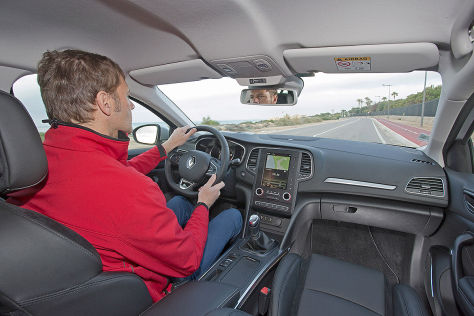 Renault Mégane im Test (IAA 2015): Sitzprobe