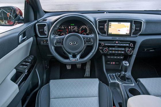 Kia Sportage Cockpit