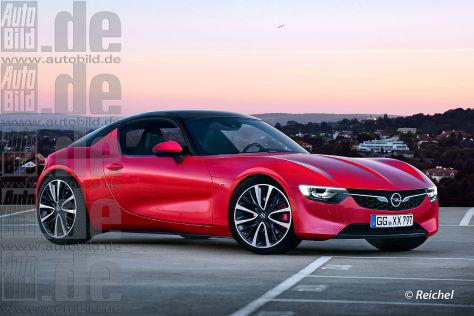 Opel GT III (2018): Vorschau