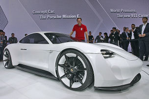 Porsche wird elektrisch