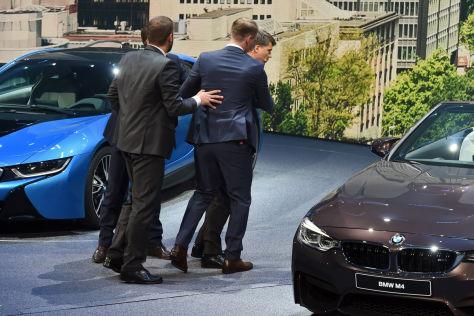 BMW-Chef Harald Krüger: IAA 2015