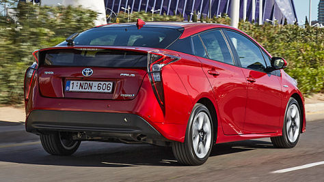 Toyota Prius im Test (2016): Fahrbericht