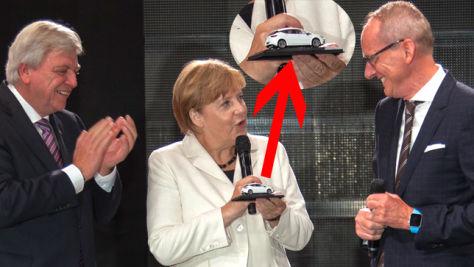 Bundeskanzlerin Merkel er�ffnet IAA 2015